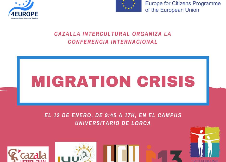 Conferencia internacional «Migration Crisis»