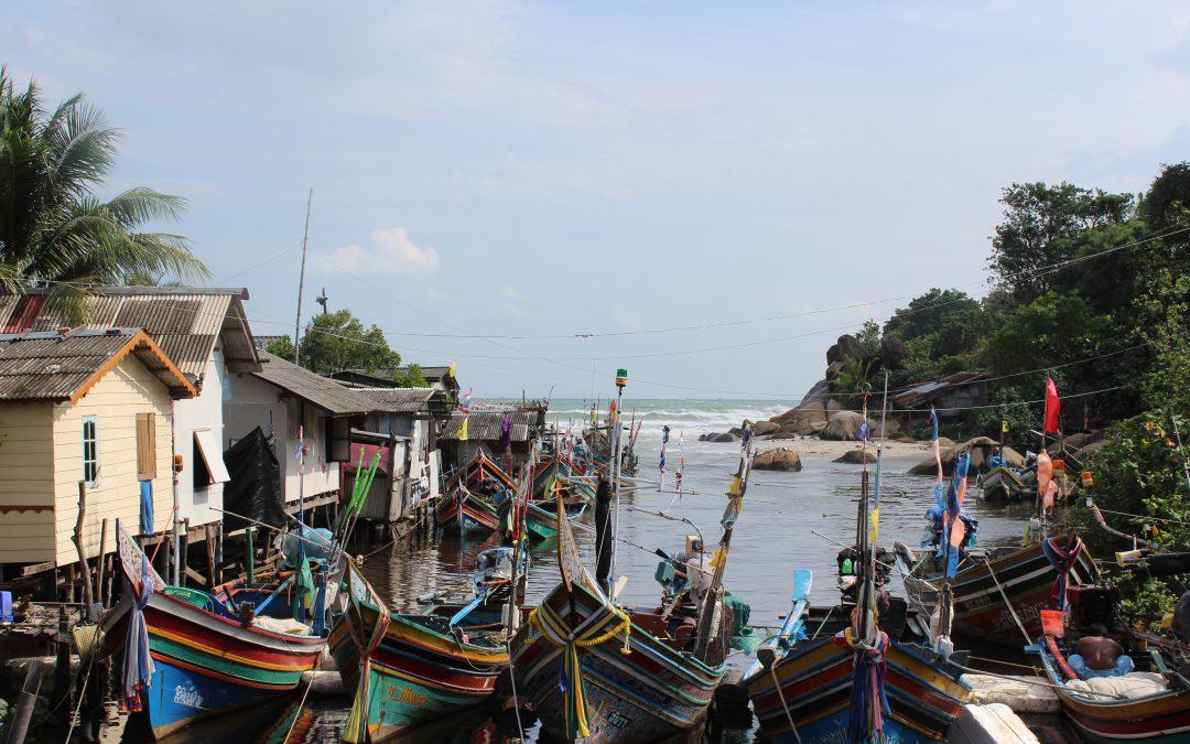 2 voluntarios para Tailandia, Songkhla