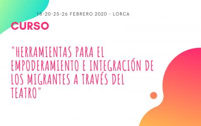 CURSO «Herramientas para el empoderamiento y la integración de inmigrantes a través del teatro»