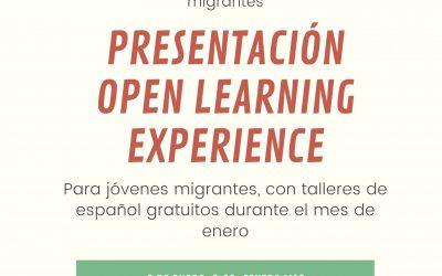 Evento de difusión para jóvenes migrantes OLE