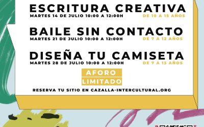 Cine y talleres Verano 2020