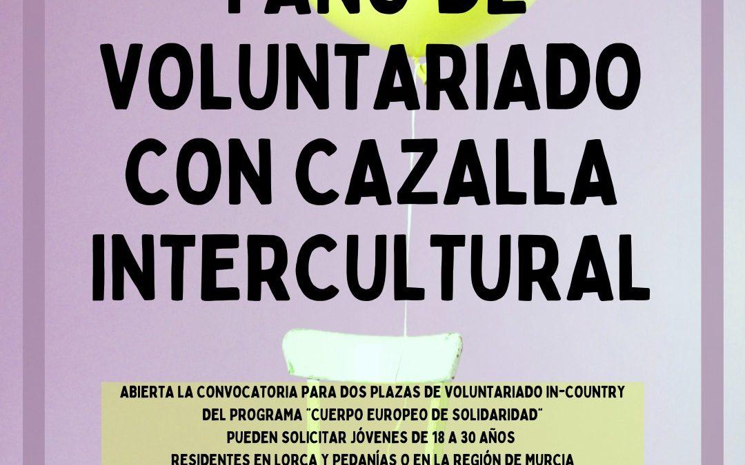 Oferta de voluntariado para personas de Murcia en Lorca